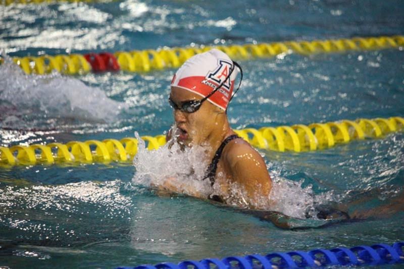 Nadadora Isabela Martim