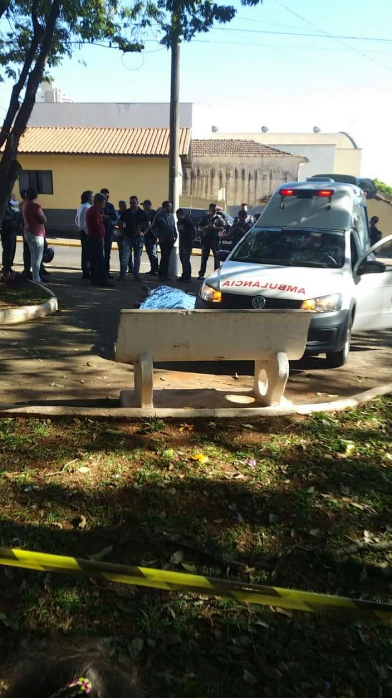 Alexandre Montagnani morreu com um tiro na cabeça     Imagem: FT