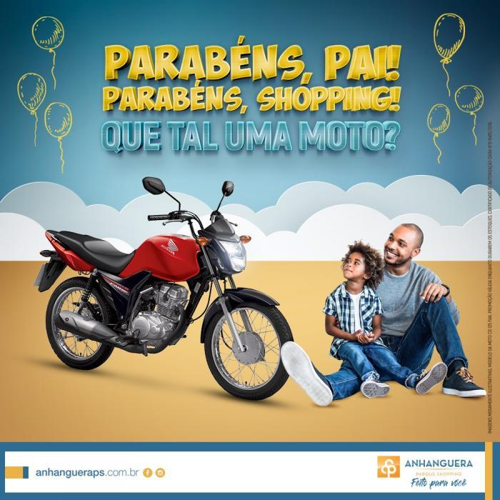 a9224083173a95 Anhanguera Shopping celebra Aniversário e Dia dos Pais com promoção e shows  gratuitos