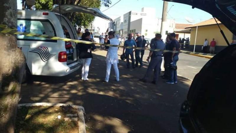 Local do crime que abalou a cidade        Imagem: FT